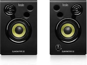 altavoces Hercules DJ Monitor 32 active DJ Monitoring Speakers Negro