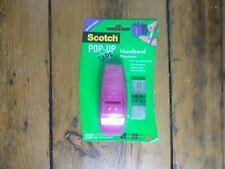 3M Scotch Pop Up Pink Refillable Handband Tape Dispenser including 75 Strips