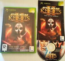 Video Gioco Game Retro Microsoft XBOX 1 PAL ITA Star Wars 2 Knights Old Republic