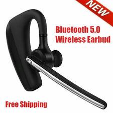 Bluetooth 5.0 Wireless Earbud Headset Hands Free Headphone for iPhone Samsung Lg