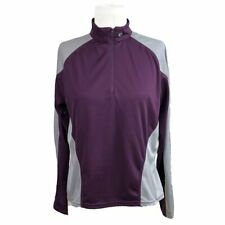 Pearl Izumi L Large 1/4 Zip Cycling Jersey Lightweight Long Sleeve No Pockets