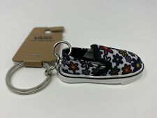 Vans Slip On Keychain Daisy Floral Key Chain