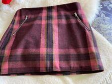 Gap Wool Mini Skirt Size 14