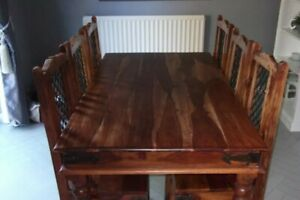 Mango 6 Seater Dinning Table And Chairs