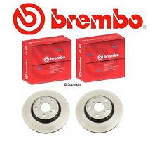 Set of 2 Brembo Front Brake Rotors Toyota NEW