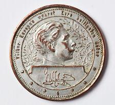 Medaille versilbert Wilhelm II Kaiserreich China Peking1900 Boxeraufstand Selten