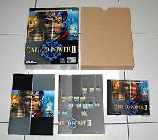 Gioco Pc Cd CALL TO POWER II 2 Civilization - Activison 2000 Box ITA PERFETTO