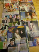 Gossip Girl, Blake Lively, Penn Badgley, Chace Crawford, Lot of FIVE Clippings