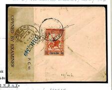 F311 Portugal Colonies INDIA *Loutulim* WW2 Censored 1942 Cover