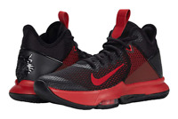 Nike LeBron Witness 4 Red Black Men's Basketball Shoes Sport Sneakers BV7427-006