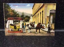 572. Vintage Madeira, Funchal Carro de Bois  Postcard
