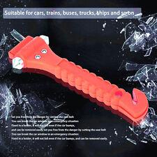 Seat Belt Cutter Window Breaker Tool Escape Car Emergency Gadget Rescue Hammer