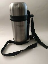 Thermos Thermocafe 1.3 Qt/1.2L Stainless Steel Vaccum Insulated Food Bottle