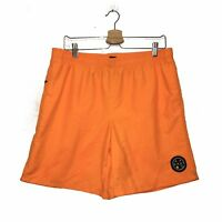 Maui and Sons Mens Orange Party Rocker Volleys Shorts Size XL