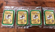4 packages of 24 filters Gourmay Wrap Around Coffee Filter for Percolator!