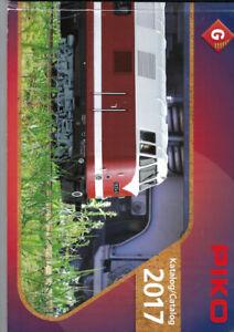 Piko Hauptkatalog 2017 für Spur G Gartenbahn