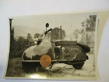 Org. Foto 50er Jahre  Oldtimer Motorroller
