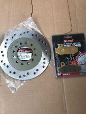Plomo De Honda NHX 110 NHX110 2008 - 2010 disco de freno delantero y la Almohadilla Kit Set 3 Pernos