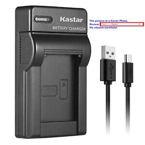 Kastar Battery Slim USB Charger for Samsung SB-LSM80 & Samsung SC-D363 Camcorder
