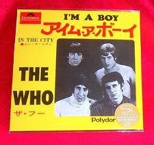 The Who I'm A Boy / In The City 7 Inch SHM MINI LP CD JAPAN UICY-78495