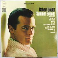 """12"""" 33 RPM STEREO LP - COLUMBIA CS-9180 - ROBERT GOULET - SUMMER SOUNDS (1965)"""