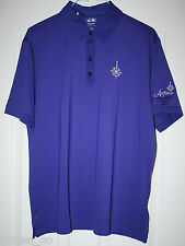 BRAND NEW ~ NWT Men's Adidas Climalite Golf Tennis Polo PURPLE L/ Large Z63646