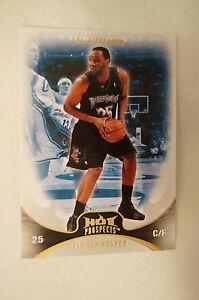 "NBA CARD - Fleer - ""Hot Prospects"" - Al Jefferson - Minnesota Timberwolves."