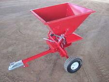Fertilizer , lime , grass seed spreader suit quad, ride on lawnmower HEAVY DUTY