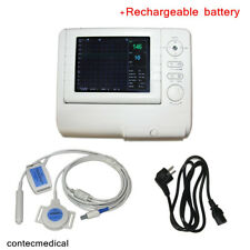CONTEC Rechargeable Fetal Monitor + Baby Heart Rate Ultrasound Probe, Obstetric