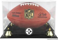 Pittsburgh Steelers Team Logo Football Display Case - Fanatics