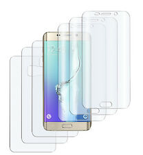 6 x Panzerfolie Samsung Galaxy S7 Edge 3D Komplett PET Folie 3x VORN + 3x RÜCK