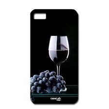 "CUSTODIA COVER CASE BICCHIERE VINO UVA WINE PER iPHONE 6 4.7"""