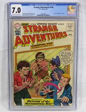 DC Comics Strange Adventures #126 CGC 7.0 OW/W Atomic Knights Los Angeles 1961