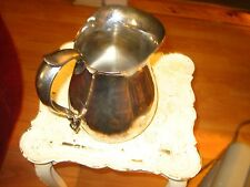 Solid, Heavy Reed & Barton Silverplate Pitcher / Jug