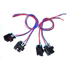 Set of 4 Fuel Injector Connector Harness For GM SATURN HUMMER GMC 1P1575 PT2135