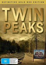Twin Peaks: Definitive Gold Box Edition (Seasons 1 - 2) NEW R4 DVD