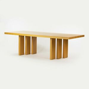 2013 Poltrona Frau Italy 8ft Oak H_T Dining Table by Claudio Silvestrin Cassina