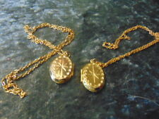 both sides Supplied with Gift Box Child's Gold Coloured Locket Design on