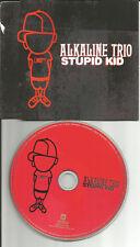 ALKALINE TRIO Stupid Kid w/ RARE UNRELEASED TRK & VIDEO CD Single USA Seller