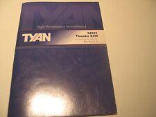 Tyan Thunder K8W S2885 Manual
