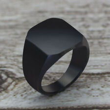 Ring Classic Ring Wedding Engagement Jewe 2020 Fashion Simple Style Black Square