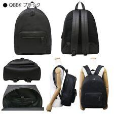 Coach F23247 QB/BK West Black Backpack In Pebbled Leather Traveler School NEW
