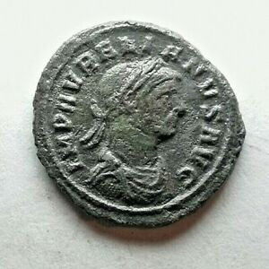 RARE Aurelian BI Denarius Rome Ancient Authentic coin
