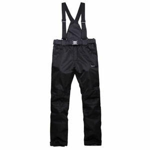 Winter Men's Ski Suit Waterproof Ski Jacket Snow Pants Coat Snowsuits Snowboard