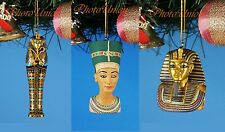 Decoration Xmas Ornament Decor Egypt Pharaoh Tutankhamun Nefretiti Mummy Mask
