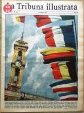 La Tribuna Illustrata 31 Marzo 1957 Peter Van Wood Lollobrigida Unione Europea