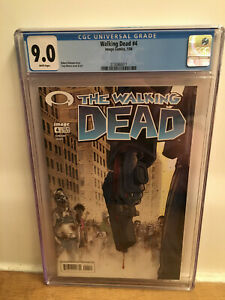 Walking Dead #4 CGC 9.0 2004 white pages