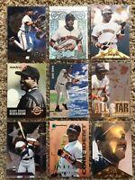 Barry Bonds baseball card lot 18 Cards. San Francisco Giants
