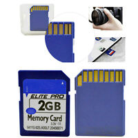 2GB 2G Class 4 Standard SD Secure Digital Flash Memory Card for Digital Cameras