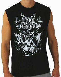 DARK FUNERAL PUNK ROCK Band Black Muscle Shirt